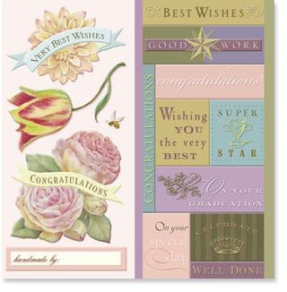 Beyond Postmarks - Special Day Embossed Stickers