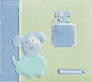 Sweet Pea - Brenda Walton - 12x12 Baby Boy Fabric Album
