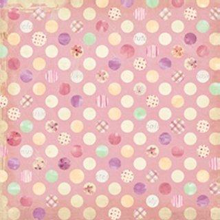 Hopscotch - Girl Large Dots 12x12