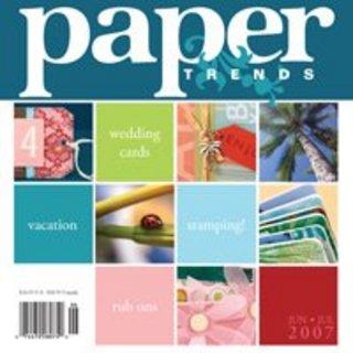 Paper Trends - June/July 2007