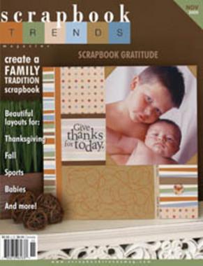 Scrapbook Trends - November 2005