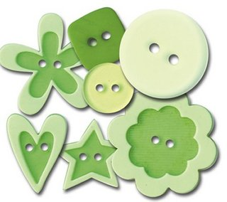 Queen & Co. - Buttons Go Green