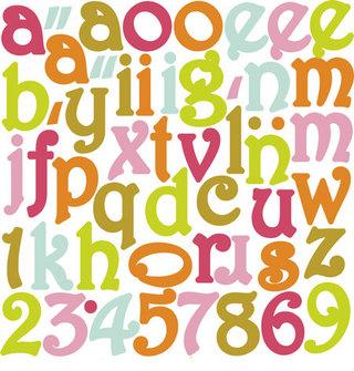 Tinkering Ink - Al Fresco Alphabet