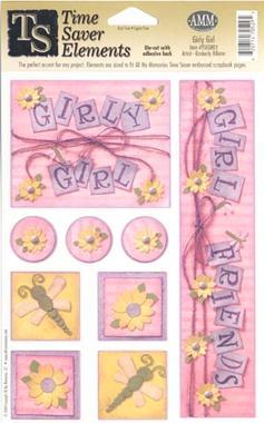 All My Memories  - Girly Girl Time Saver Die Cuts