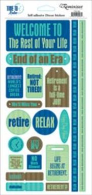 Reminisce - Time/Relax Phrase Sticker