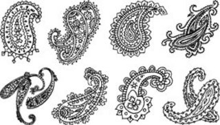 Technique Tuesday - Pieces of Paisley