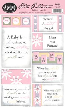 All My Memories Vellum Accent - Baby Girl
