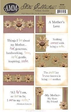 All My Memories Vellum Accents - Mother