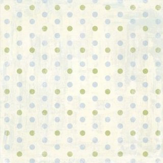 Wild Asparagus - All Smiles - Polka Dot/Green