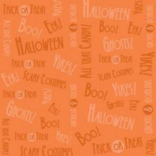 Halloweenie Orange Boo