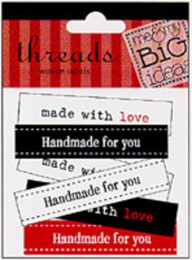 Made With Love (Woven Labels)