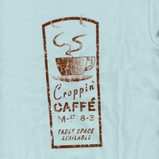 Croppin Cafe T-Shirt Xl