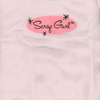 Scrap Girl T-Shirt Medium