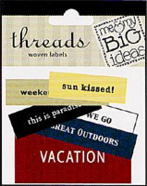 Vacation 1 (Woven Labels)